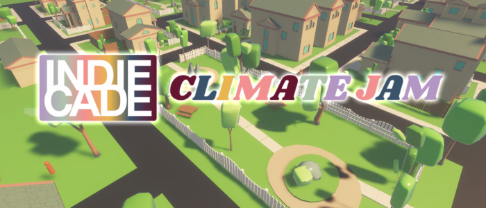 We're doing a climate game jam for Earth day!